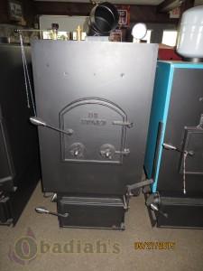 DS Boiler naked - Obadiah's Wood Boilers