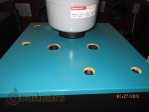 DS Boiler Top View - Obadiah's Wood Boilers