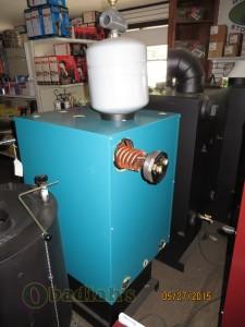 DS Boilers rear view - Obadiah's Wood Boilers