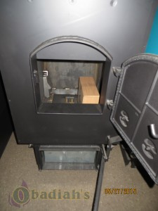 DS Firebox Front with Ash Door - Obadiah's Wood Boilers