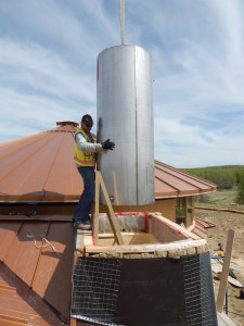 Solar Dragon - Construction Boiler SS Tank- Obadiah's Wood Boilers