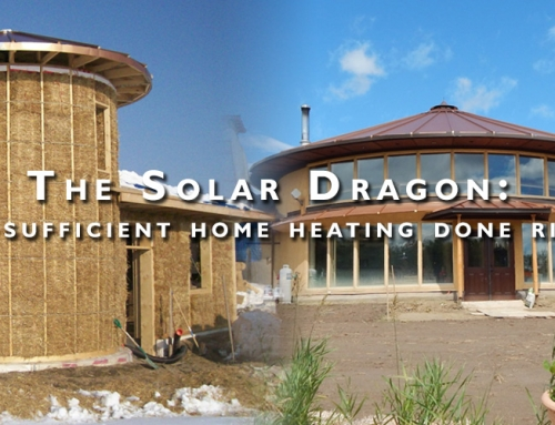 Solar Dragon: Self-Sufficient Home Heating Done Right