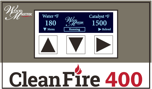 WoodMaster CleanFire Boiler - Control Board - Obadiah's Wood Boilers