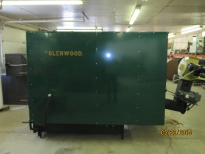 Glenwood 7080 Automatic Biomass Boiler Side View