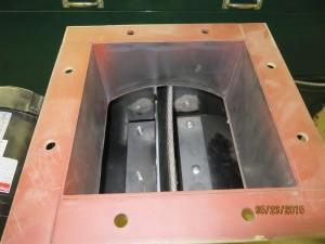 Glenwood 7080 Multi-Fuel Biomass Boiler Rear View AT900 Throat 1