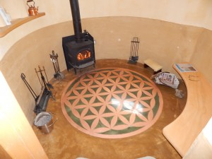 Solar Dragon - Interior - woodstove 2 - Obadiah's Wood Boilers