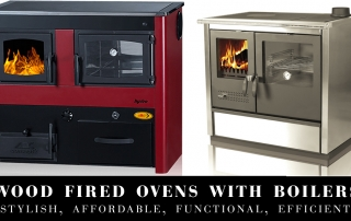 Wood Fired Ovens with Boilers