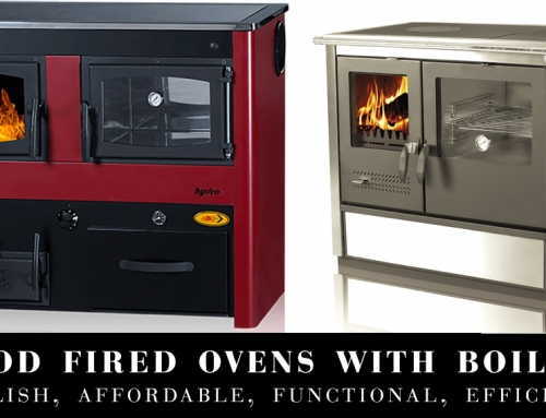 Wood Fired Ovens with Boilers – Stylish, Affordable, Functional, Efficient